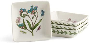 Portmeirion Portmeirion Botanic Garden Set of 4 Square Mini Dishes - DimpzBazaar.com