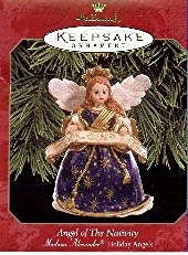 Hallmark Angel of the Nativity - Madame Alexander Series - Hallmark Keepsake Ornament - 1999 - DimpzBazaar.com