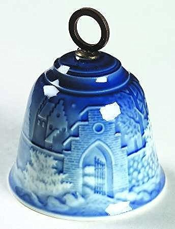 Bing & Grondahl 1986 Bing and Grondahl Collectible Christmas Bell -- Silent Night - DimpzBazaar.com