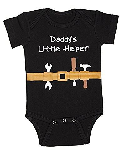 Ganz Ganz Diaper Shirt Daddy's Little Helper, 0-6 Months - DimpzBazaar.com