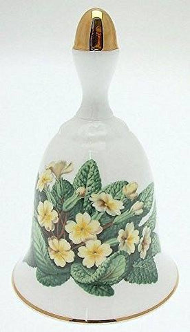 Danbury Mint Danbury Mint Sumner Collection Wildflower Bells - Primrose Design - February - CLT346 - DimpzBazaar.com