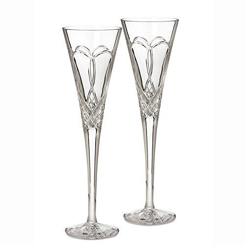 Waterford Waterford Crystal Times Square 2011 Champagne Flute(s) Pair - DimpzBazaar.com
