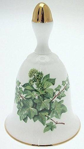 Danbury Mint Danbury Mint Sumner Collection Wildflower Bells - Ivy Design - November - CLT353 - DimpzBazaar.com