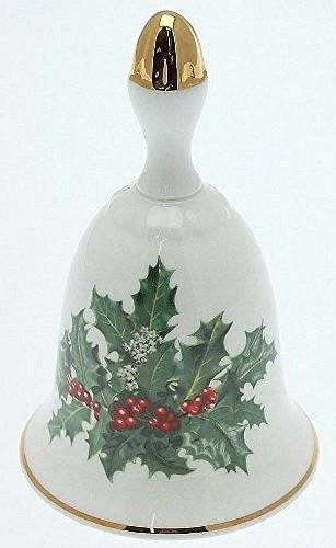Danbury Mint Danbury Mint Sumner Collection Wildflower Bells - Holly Design - December - CLT348 - DimpzBazaar.com