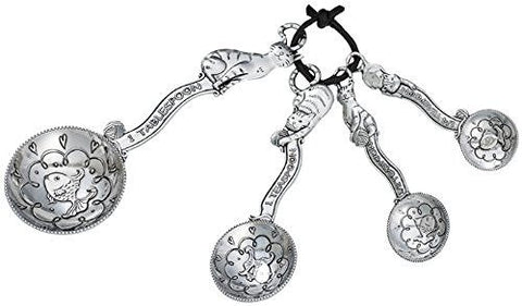 Ganz Ganz 4-Piece Measuring Spoons Set, Cat - DimpzBazaar.com