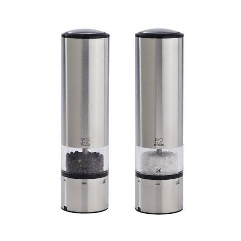 Peugeot Peugeot Elis Sense Duo Electric Pepper and Salt Mill with Alpha Tray - DimpzBazaar.com