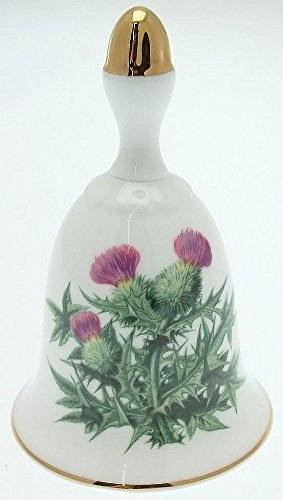 Danbury Mint Danbury Mint Sumner Collection Wildflower Bells - Thistle Design - August - CLT352 - DimpzBazaar.com