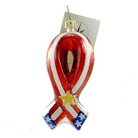 "Christopher Radko Christopher Radko ""United For Freedom"" Decorative Ornament #01-1021-0 - DimpzBazaar.com"