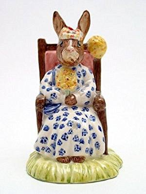 Royal Doulton Bunnykins Bunnykins Susan as Queen of the May DB83 - DimpzBazaar.com