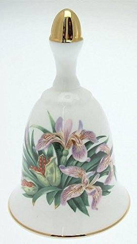 Danbury Mint Danbury Mint Sumner Collection Wildflower Bells - Iris Design - June - CLT343 - DimpzBazaar.com