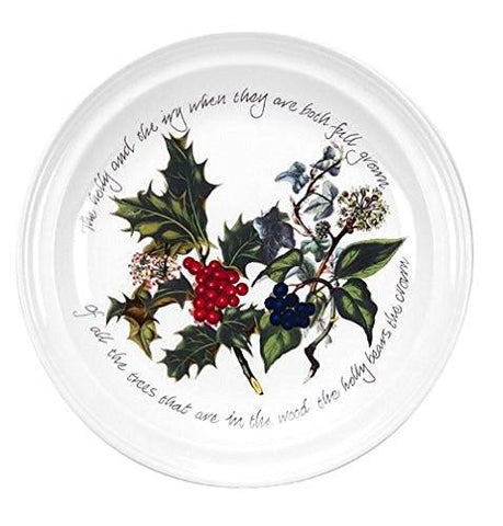 Portmeirion Portmeirion Holly and Ivy Dinner Plates, Set of 6 - DimpzBazaar.com