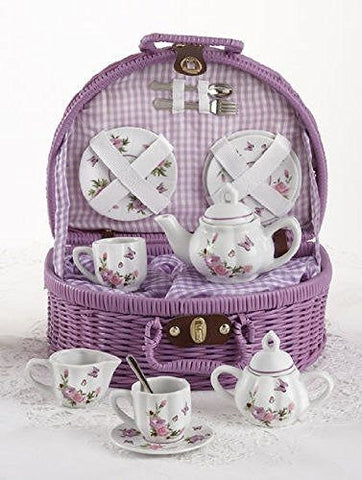 Delton Delton Products Butterfly Tea Set - DimpzBazaar.com