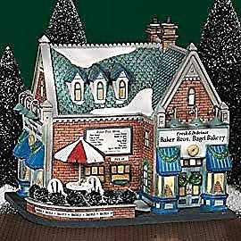 Department 56 Baker Bros. Bagel Bakery - DimpzBazaar.com