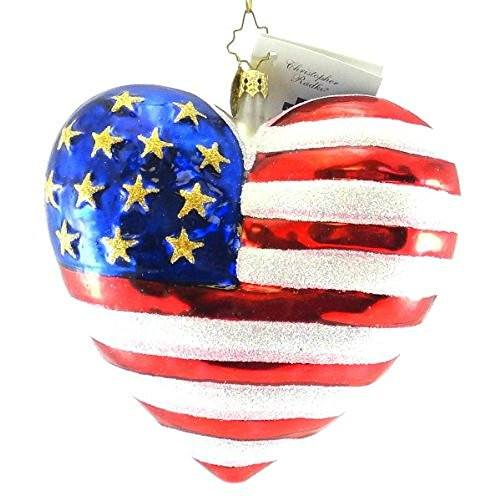 Christopher Radko Christopher Radko September 11, 2001 Brave Heart Ornament - DimpzBazaar.com