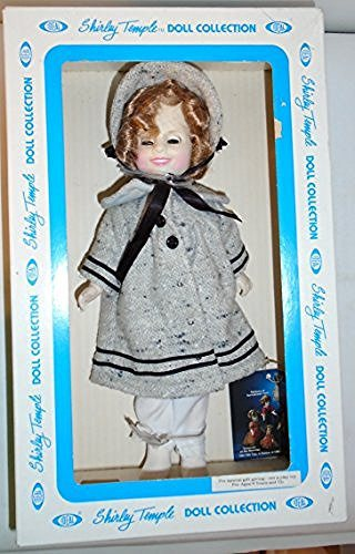 Ideal Shirley Temple 11 Inch Shirley Temple Doll with Dimples in Coat and Hat - DimpzBazaar.com