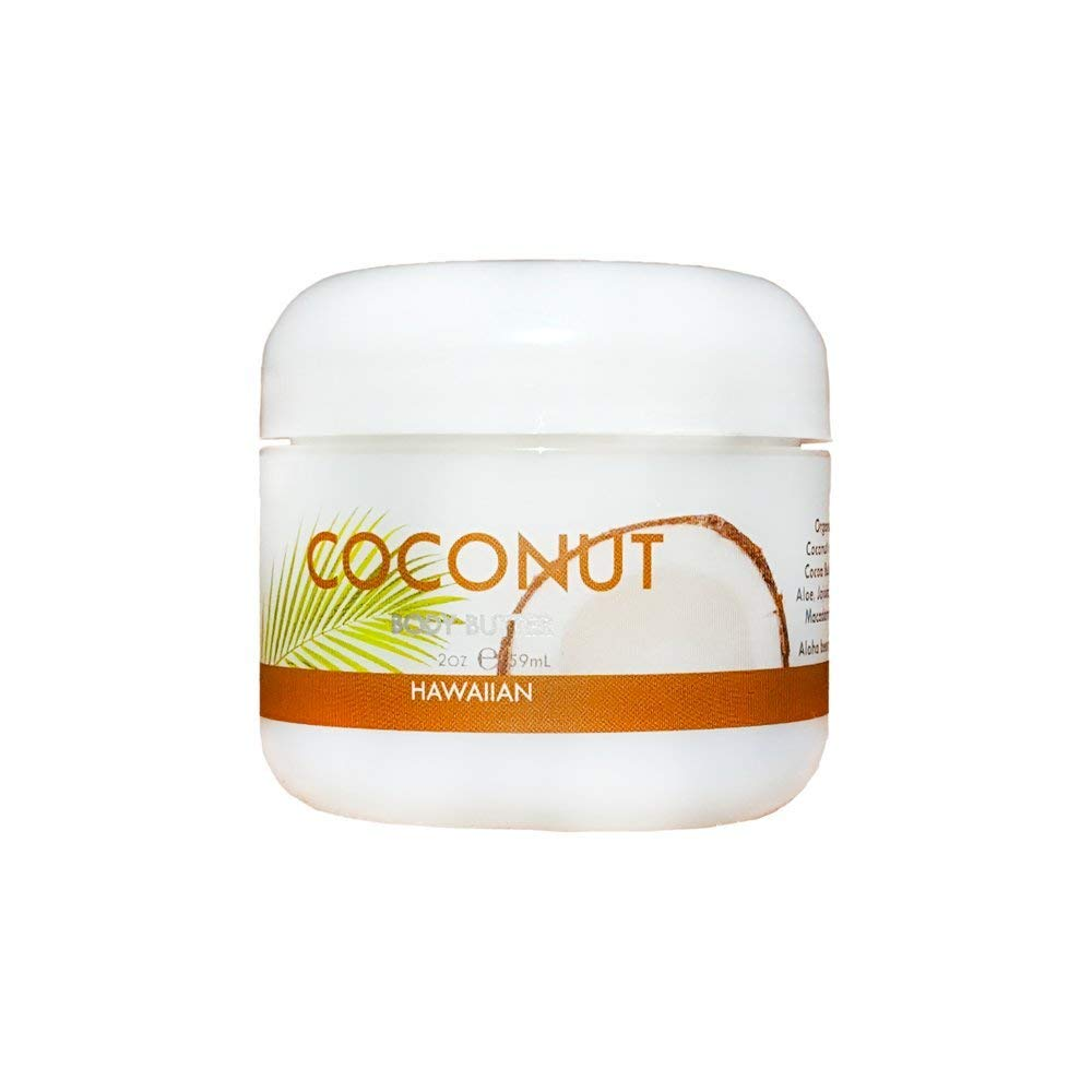 Maui Soap Company Maui Soap Co. Coconut Body Butter 2 Oz - DimpzBazaar.com