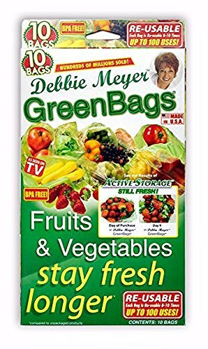 Debbie Meyer Debbie Meyer GreenBags - 10 pack (M/L Set) - DimpzBazaar.com