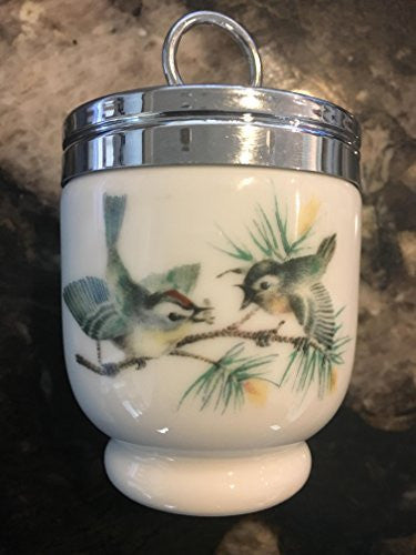 Royal Worcester Royal Worcester Egg Coddler Birds and Insect Pattern Single Egg - DimpzBazaar.com