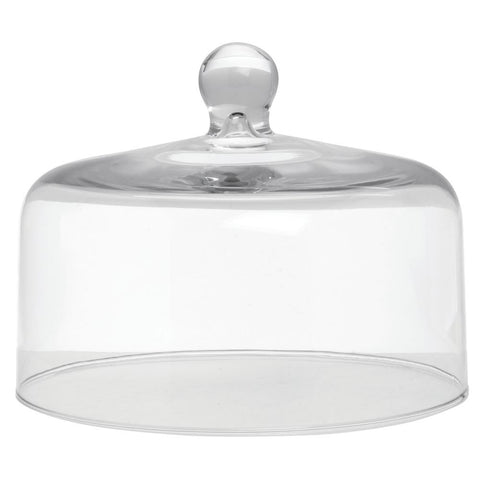 "Mosser Glass Mosser Glass Clear Dome Cake Cover - 10"" Dia x 8"" H - DimpzBazaar.com"