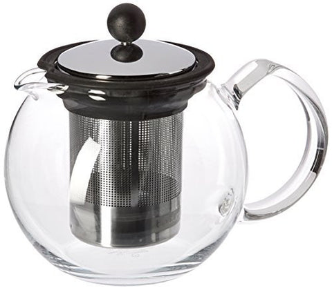 Bodum Bodum Assam Glass Teapot with Stainless-Steel Filter - DimpzBazaar.com