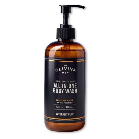 Olivina Men Olivina Men All-in-One Body Wash Ginger Beer 16oz - DimpzBazaar.com