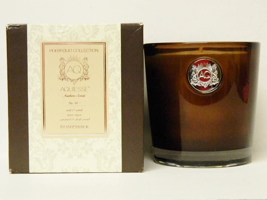 Aquiesse Aquiesse Fine Scented Large Candle In Box - Boardwalk 11oz - DimpzBazaar.com