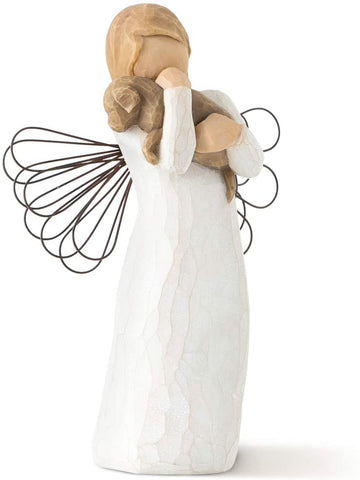 "Willow Tree DEMDACO Willow Tree Angel of Friendship (Natural, 5"" Height) - DimpzBazaar.com"