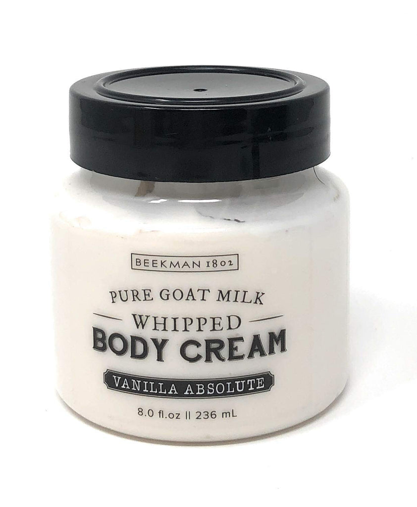 Beekman 1802 Beekman 1802 Pure Goat Milk Whipped Body Cream - Vanilla Absolute 8.0 fl oz. - DimpzBazaar.com