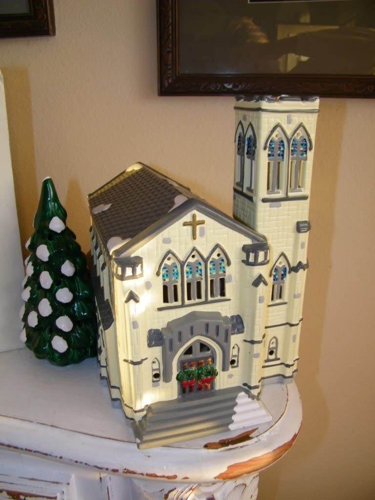 Department 56 50199 Department 56 Dept Snow Village Cathedral w/ Box 5110 - DimpzBazaar.com