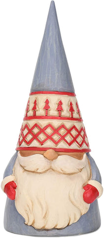 Enesco Enesco Jim Shore Heartwood Creek Grey Trees Hat Gnome Figurine - DimpzBazaar.com