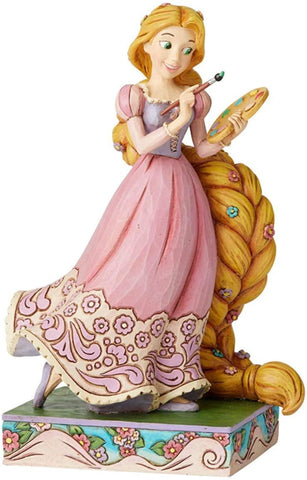 Enesco Enesco Disney Traditions by Jim Shore Tangled Princess Passion Rapunzel Figurine, 7 Inch, Multicolor,6002820 - DimpzBazaar.com