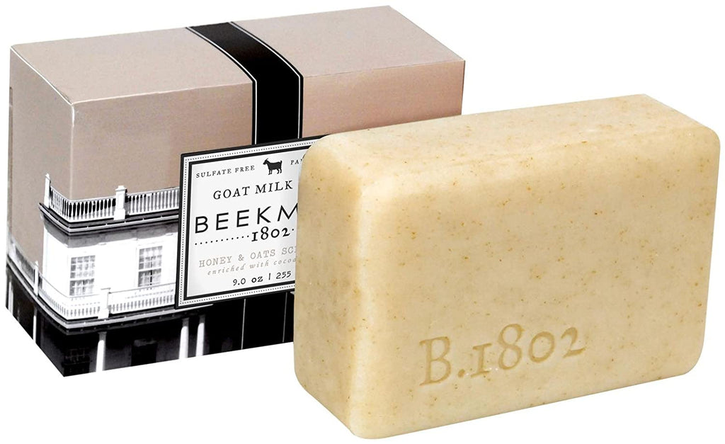 Beekman 1802 Beekman 1802 Goats Milk Bar Soap - Honey & Oats - 9 oz - DimpzBazaar.com
