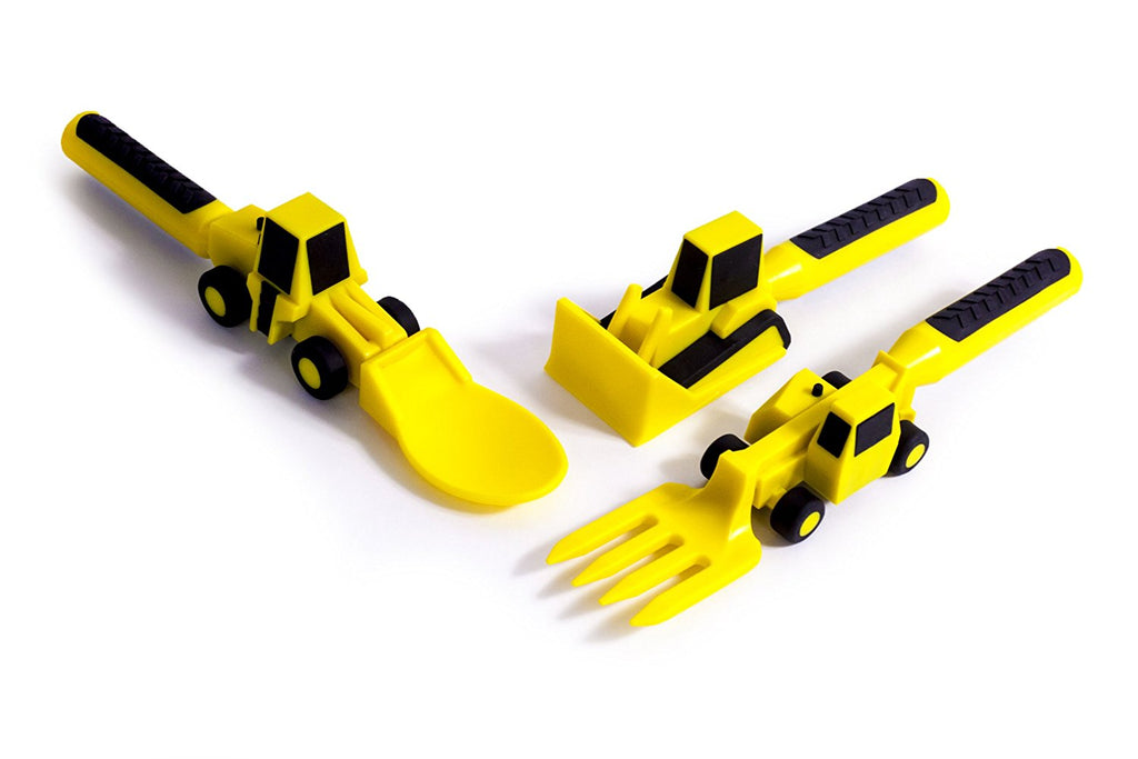 Constructive Eating Constructive Eating - Set of Construction Utensils - DimpzBazaar.com