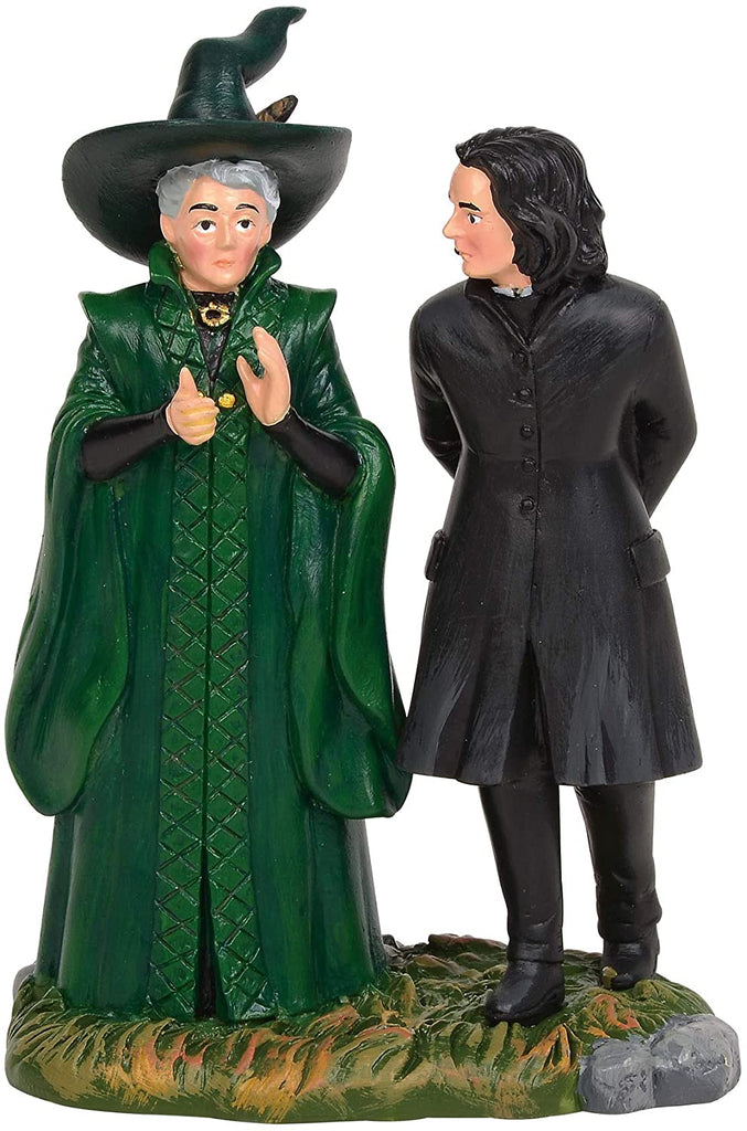 "Enesco Department 56 Harry Potter Village Snape & McGonagall Village Figures, 3.5"" - DimpzBazaar.com"