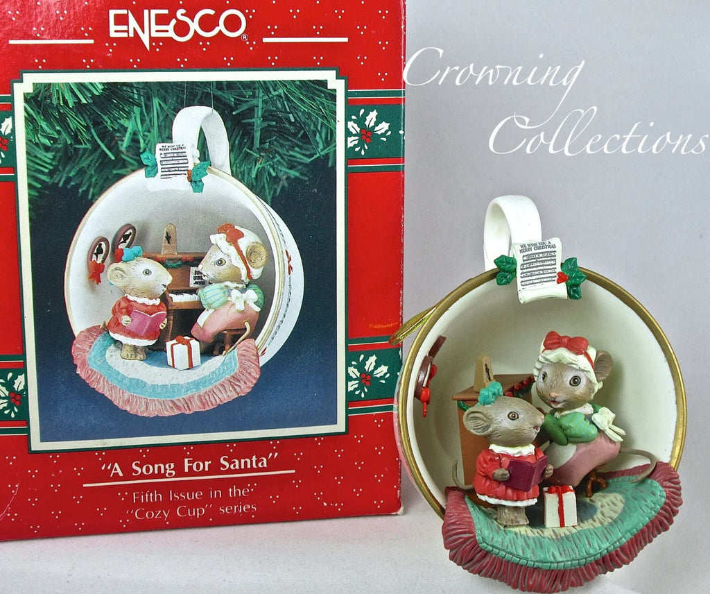 "Enesco Enesco ""A Song For Santa"" Ornament - DimpzBazaar.com"