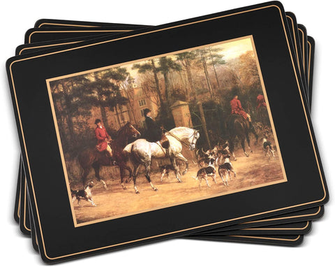 Portmeirion Pimpernel Tally Ho Collection Placemats - Set of 4 - DimpzBazaar.com