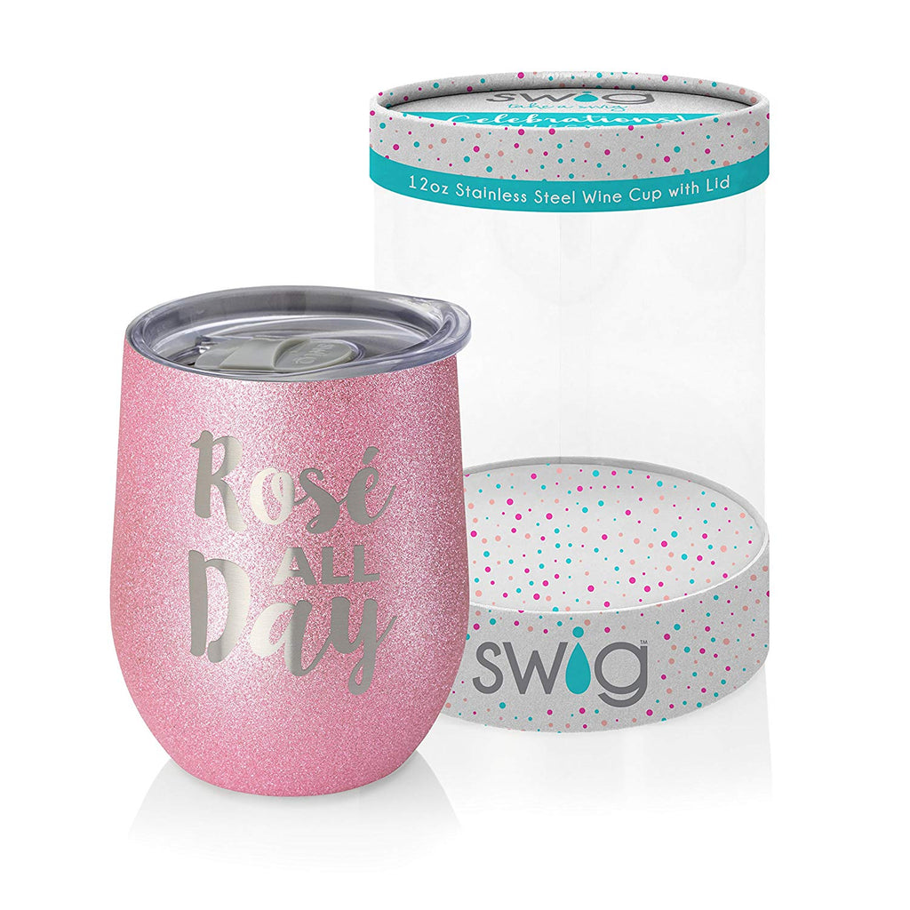 SWIG Swig Celebrations 12oz Wine-Rose All Day - DimpzBazaar.com