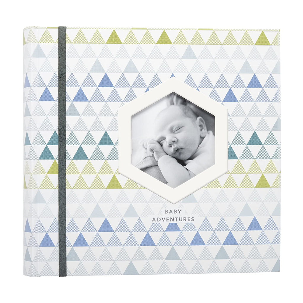 C.R. Gibson C.R. Gibson Blue Wild Adventure Baby Boy First Year Keepsake - DimpzBazaar.com