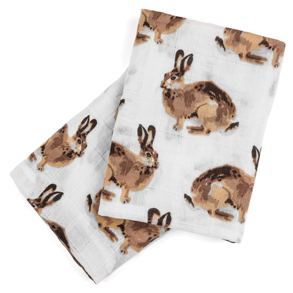 MilkBarn Milkbarn Organic Cotton Burp Cloths (2 pack) - DimpzBazaar.com