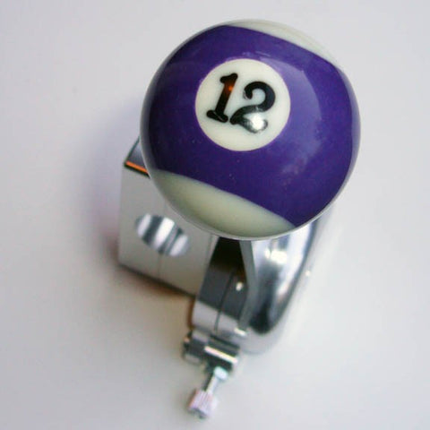 "1.5"" [38 mm] Billiard Ball Shift Knob (#12 Ball)"