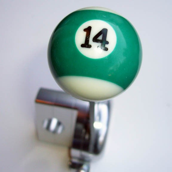 "1.5"" [38 mm] Billiard Ball Shift Knob (#14 Ball)"