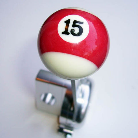 "1.5"" [38 mm] Billiard Ball Shift Knob (#15 Ball)"