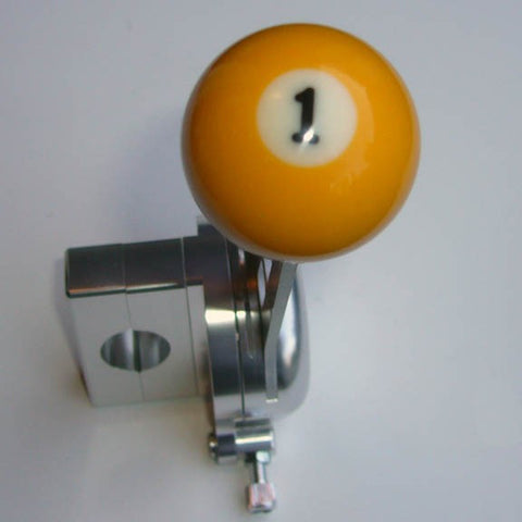 "1.5"" [38 mm] Billiard Ball Shift Knob (#1 Ball)"