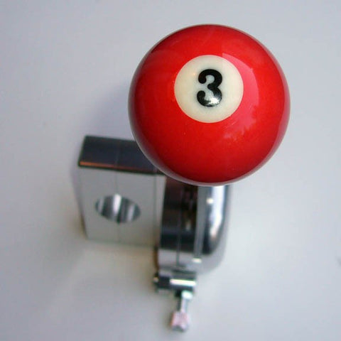 "1.5"" [38 mm] Billiard Ball Shift Knob (#3 Ball)"