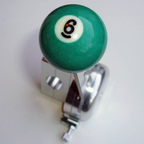 "1.5"" [38 mm] Billiard Ball Shift Knob (#6 Ball)"