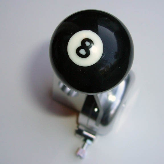"1.5"" [38 mm] Billiard Ball Shift Knob (#8 Ball)"