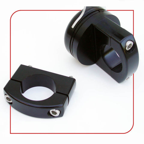 "1.125"" [28.6mm] Frame Clamp (Black)"