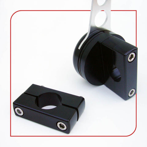 ".50"" [12.7mm] Low-Profile Frame Clamp (Black)"