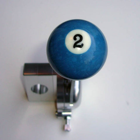 "1.5"" [38 mm] Billiard Ball Shift Knob (#2 Ball)"