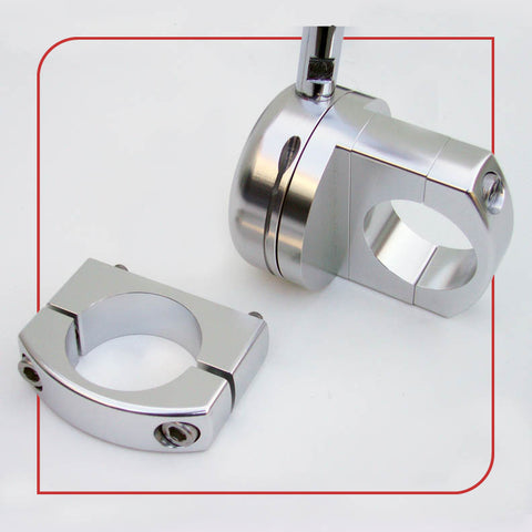 "1.5"" [38.1mm] Frame Clamp (Silver)"